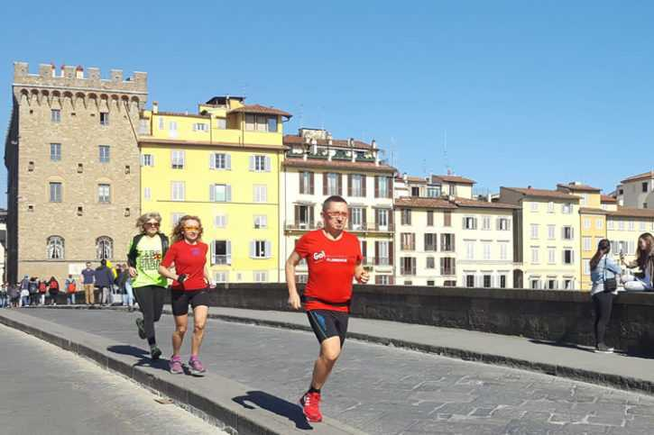 Medici running tour in Florence - 12 km