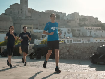 Running tours in Ibiza