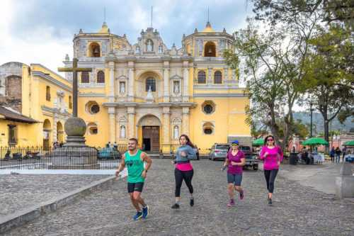 Guatemala antigua historic tour 5km